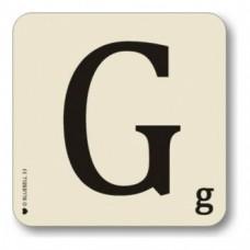 Letter G Coaster