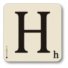Letter H Coaster