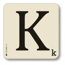 Letter K Coaster