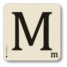 Letter M Coaster