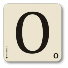 Letter O Coaster