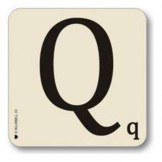 Letter Q Coaster