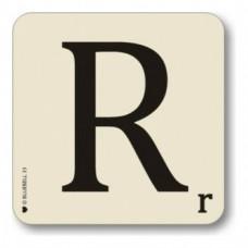 Letter R Coaster