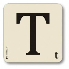 Letter T Coaster