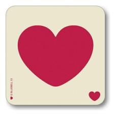 Letter LOVE Coaster