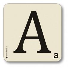 Letter a place mat