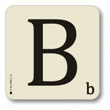 Letter b place mat