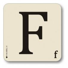Letter f place mat