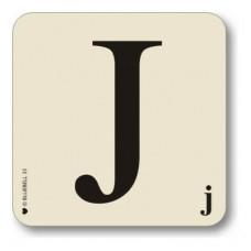 Letter j place mat