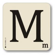 Letter m place mat