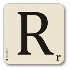 Letter r place mat