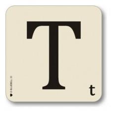 Letter t place mat