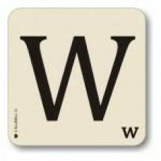 Letter w place mat