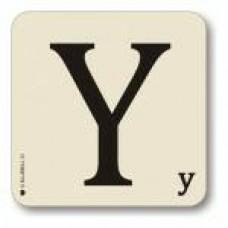 Letter Y Place Mat