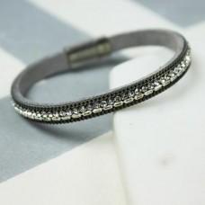 grey sparkle bracelet