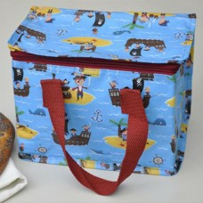 Pirate Blue lunch Bag
