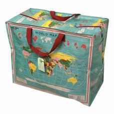 The World Map Jumbo Storage Bag