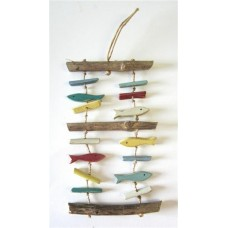 coloured fish driftwood
