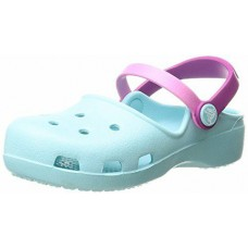 CROCS Girls Karin Clog in Ice Blue was £24.95
