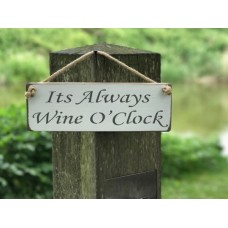 always wine sign wht