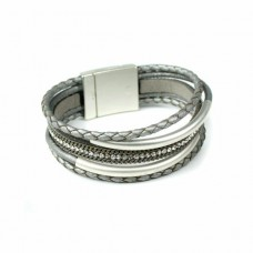 5 strand silver bracelet