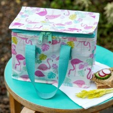 Flamingo Bay Recycled Lunch Bag