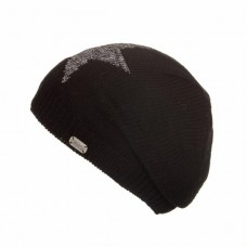 KuSan black slouch hat with silver star