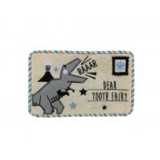 Dinosaur felt tooth fairy envelope