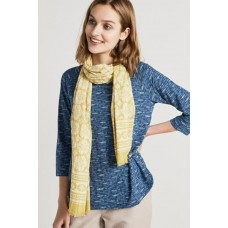 New Everyday Scarf Buttercup Border Hay
