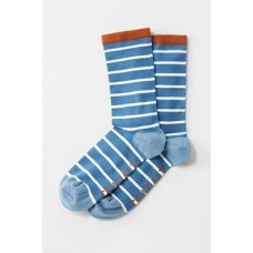 Womens Sailor Socks Breton Sailor