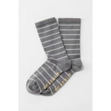 Womens Sailor Socks Breton Stormcloud Herring