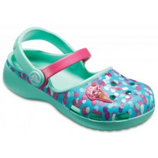 Kids Crocs Karin Novelty Clog Mint