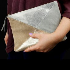 Patchwork Suede Bag