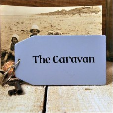 The Caravan Wooden Key Ring