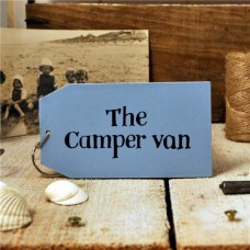 The Camper Van Wooden Key Ring