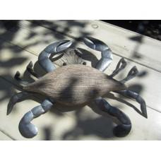 Large white crab wall art