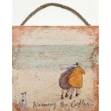 SAM TOFT (WARMING THE COCKLES)-WOODEN BLOCK