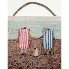 SAM TOFT (PERFECT DAY)-WOODEN BLOCK