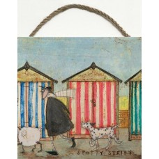SAM TOFT (SPOTTY STRIPEY)-WOODEN BLOCK