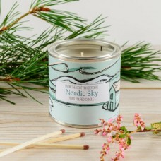 Nordic Sky Large Tin Candle