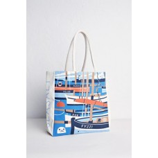 Sailcloth Shopper Mevagissey Luggers Jetty