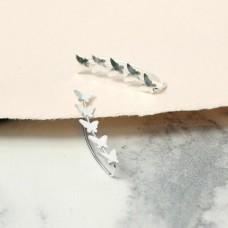 Tiny Butterfly Earline Studs