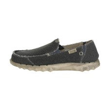 HEY DUDE HEY DUDE Farty Natural Braided in Black Organic Cotton Was £44.95