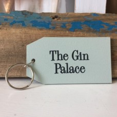 Gin palace wooden Key ring