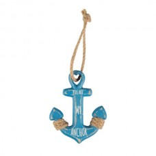 You are my anchor wooden hanging decoration