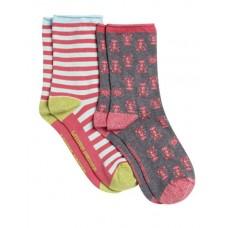 Rockpool 2 Pack Socks MULTI