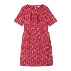 Marianne Dress Cherry Red