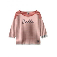 Lido Hello Stripe Jumper Cherry Red Stripe