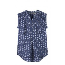 Fortune Vest Wave Wash Blue