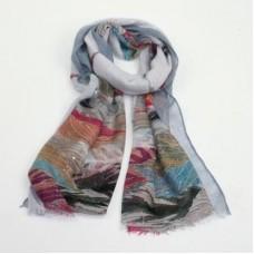 Keeley scarf blue